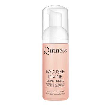 Qiriness Mousse Divine pianka oczyszczająca o działaniu rozświetlającym 125ml
