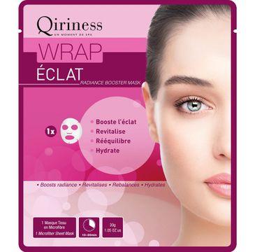 Qiriness Wrap Eclat maska rozświetlająca dodająca skórze blasku 30g
