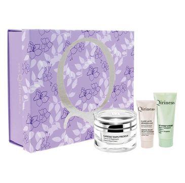 Qiriness zestaw prezentowy Perfect Repair Cream 50 ml + Extreme Moisture Balm 25 ml + Gentle Velvet Milky Cleanser 20 ml