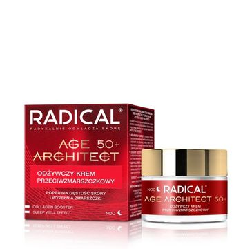 Radical Age Architect 50+ odżywczy krem przeciwzmarszczkowy na noc 50 ml