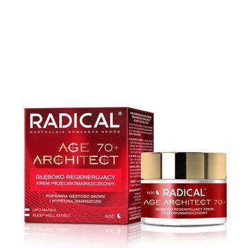 Radical Age Architect 70+ głęboko regenerujący krem przeciwzmarszczkowy na noc 50 ml