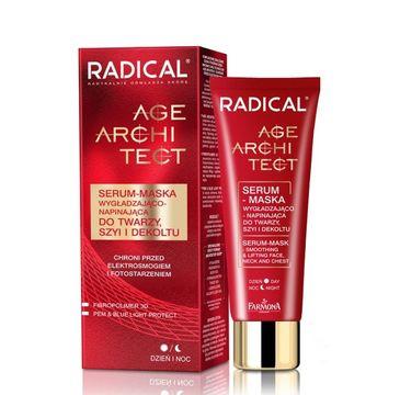 Radical Age Architect serum maska wygładzająco napinająca na twarz, szyję i dekolt 50 ml