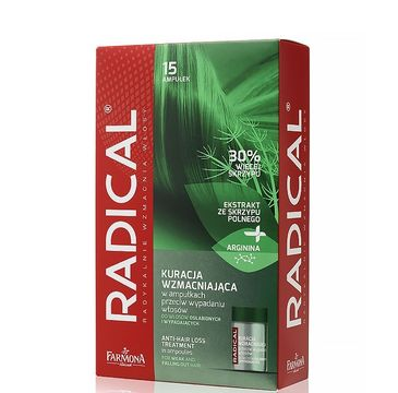 Radical Kuracja szampon przeciw wypadaniu włosów ampułki 15x5 ml