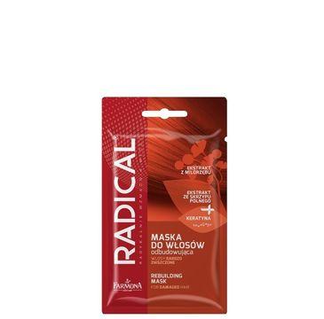 Radical maska do włosów odbudowująca włosy zniszczone 1 saszetka 20 g