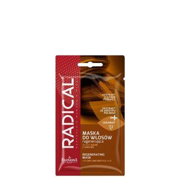 Radical maska do włosów regenerująca włosy suche i łamliwe 1 saszetka - 20 g