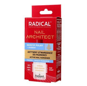 Radical Nail Architect Aktywny Utwardzacz do paznokci 12 ml