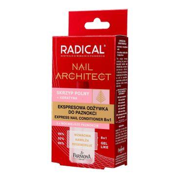 Radical Nail Architect Ekspresowa Odżywka do paznokci 8in1 12 ml
