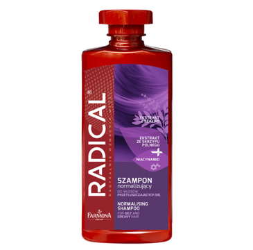Radical Szampon normalizujący do włosów przetłuszczających się (400 ml)
