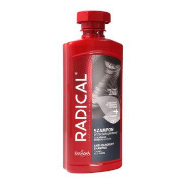Radical szampon przeciwłupieżowy do codziennej pielęgnacji każdego rodzaju włosów (400 ml)