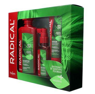 Radical zestaw prezentowy szampon 400 ml + odżywka 100 ml + serum 100 ml