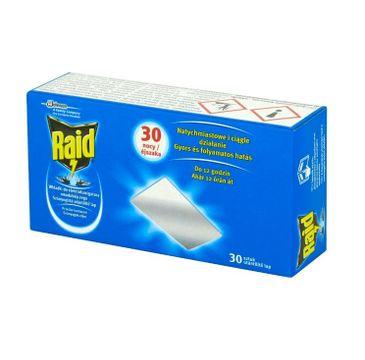 Raid – Wkładki do elektrofumigatora owadobójczego (30 szt.)