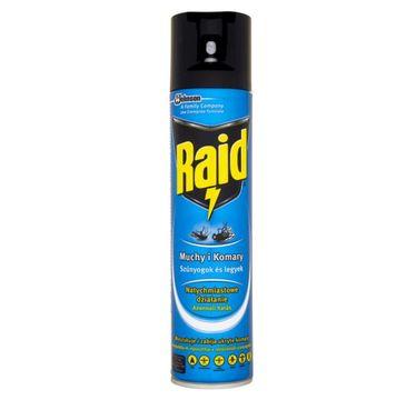 Raid – aerozol spray przeciw owadom latającym (400 ml)