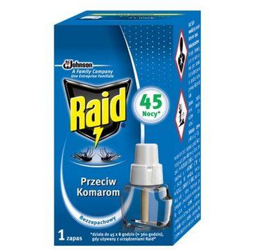 Raid –  wkład do Elektrofumigatora z płynem owadobójczym (27 ml)