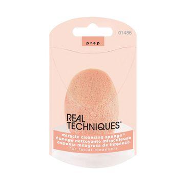 Real Techniques Miracle Cleansing Sponge gąbeczka do mycia twarzy (1 szt.)