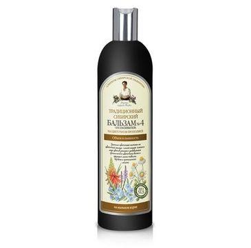 Receptury Babuszki Agafii balsam do każdego typu włosów puszystość i lekkość 550 ml