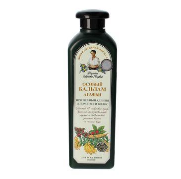Receptury Babuszki Agafii balsam do włosów łamliwych ziołowy (350 ml)