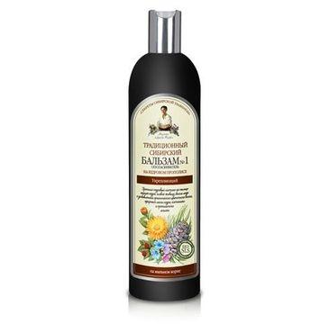 Receptury Babuszki Agafii balsam do włosów osłabionych wzmacniający 550 ml