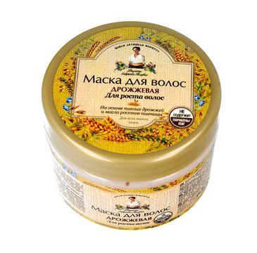 Receptury Babuszki Agafii maska do włosów drożdżowa pobudzająca wzrost (300 ml)