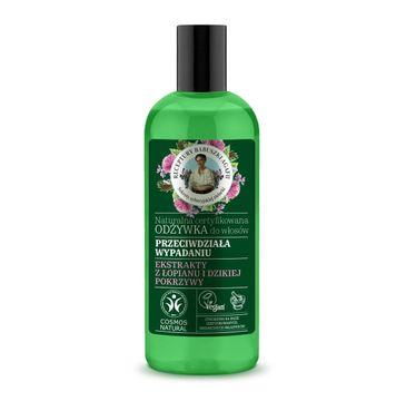 Receptury Babuszki Agafii Naturalna odżywka przeciw wypadaniu włosów (260 ml)