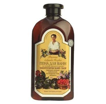 Receptury Babuszki Agafii płyn do kąpieli ziołowy energetyczny 500 ml