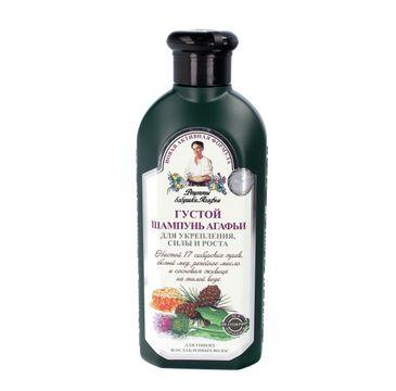 Receptury Babuszki Agafii szampon do każdego typu włosów ziołowy gęsty 350 ml