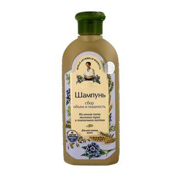 Receptury Babuszki Agafii szampon do włosów pozbawionych objętości (350 ml)