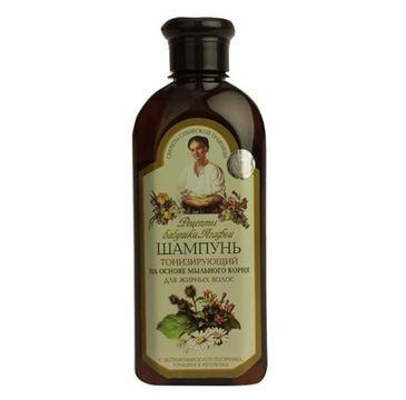 Receptury Babuszki Agafii szampon do włosów tłustych tonizujący 350 ml