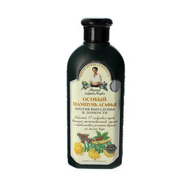 Receptury Babuszki Agafii szampon przeciw wypadaniu włosów ziołowy 350 ml