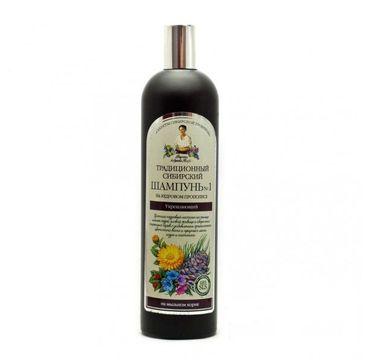 Receptury Babuszki Agafii szampon syberyjski tradycyjny cedrowy propolis wzmacniający (550 ml)