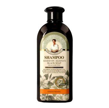 Receptury Babuszki Agafii Szampon wzmacniający na bazie czarnego mydła 350 ml