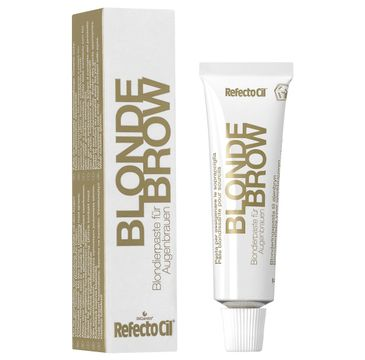 Refectocil Bleaching Paste For Eyebrows pasta do rozjaśniania brwi Blonde Brow 15ml