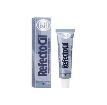 Refectocil Eyelash And Eyebrow Tint henna do brwi i rzęs 2.1 Deep Blue 15ml