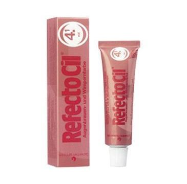 Refectocil Eyelash And Eyebrow Tint henna do brwi i rzęs 4.1 Red 15ml