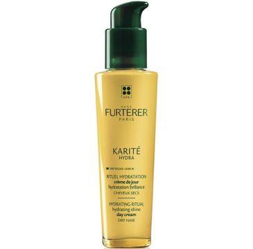 Rene Furterer Karite Hydra Hydrating Sine Day Cream krem nawilżająco-nabłyszczający na dzień do włosów suchych 100ml