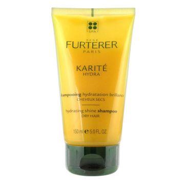 Rene Furterer Karite Hydra Hydrating Sine Shampoo szampon nawilżająco-nabłyszczający do włosów suchych 150ml