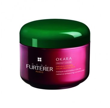 Rene Furterer Okara maska wzmacniająca kolor włosów farbowanych 200ml