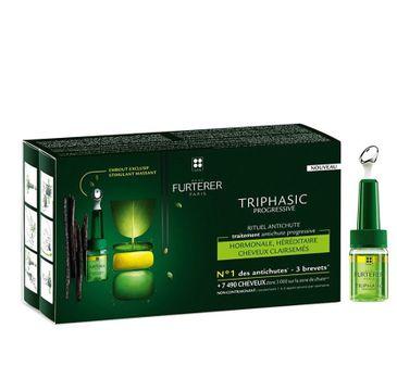 Rene Furterer Triphasic Progressive Anti-Hair Loss Ritual preparat przeciw wypadaniu włosów 8x5.5ml
