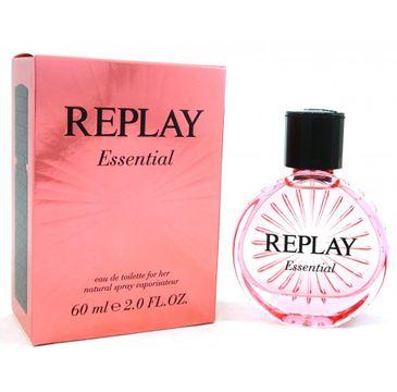Replay Essential for Her woda toaletowa spray 60ml
