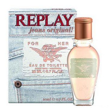 Replay Jeans Original! for Her woda toaletowa spray 20ml