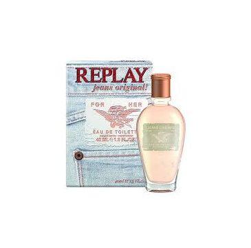 Replay Jeans Original! for Her woda toaletowa spray 40ml