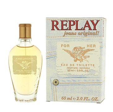Replay Jeans Original! for Her woda toaletowa spray 60ml