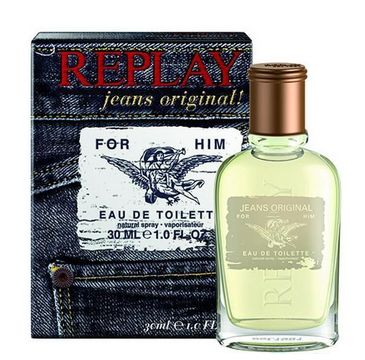Replay Jeans Original! for Him woda toaletowa spray 30ml