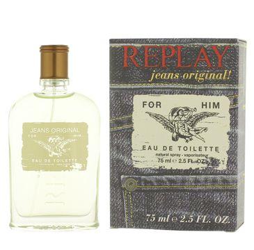 Replay Jeans Original! for Him woda toaletowa spray 75ml