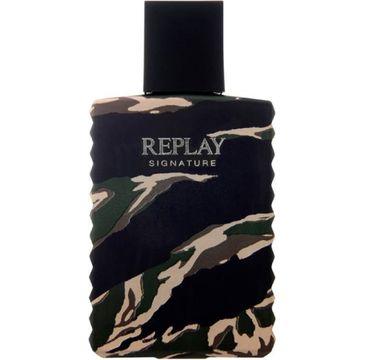 Replay Signature Men woda toaletowa spray 100ml