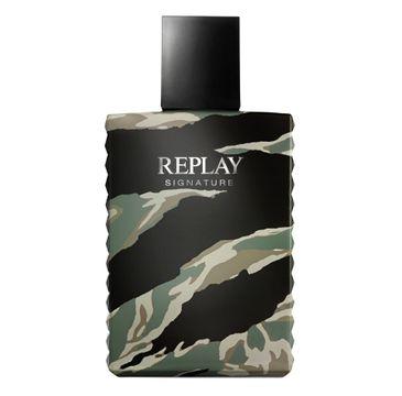 Replay Signature Men woda toaletowa spray 50ml