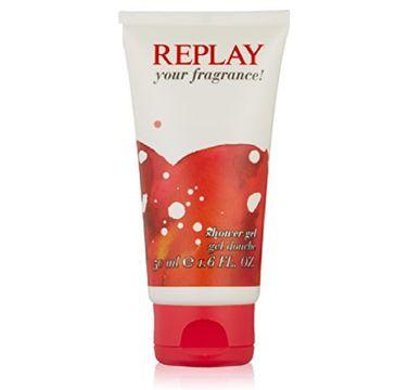Replay Your Fragrance Women żel pod prysznic 50ml