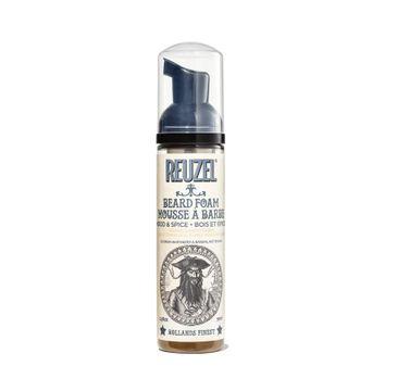 Reuzel Beard Foam odżywka do brody w piance Wood & Spice (70 ml)