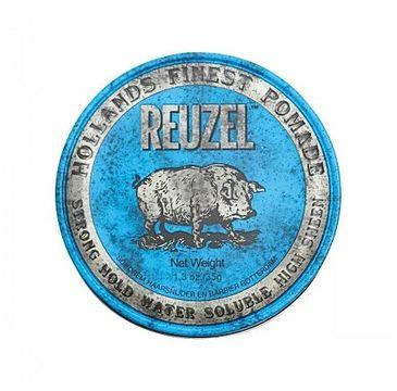 Reuzel Hollands Finest Blue Pomade mocno utrwalająca pomada na bazie wody (35 g)