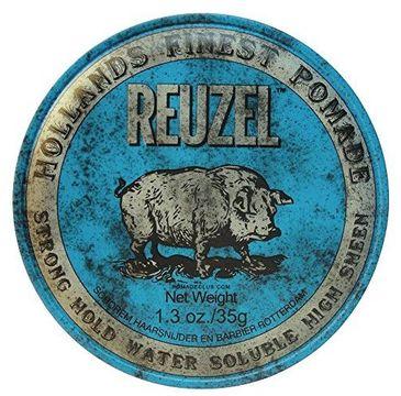 Reuzel Hollands Finest Pomade mocno utrwalająca pomada na bazie wody Blue 35g