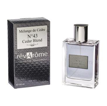 Revarome No. 43 Cedar Blend For Men woda toaletowa spray 100ml